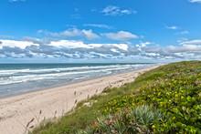 Beach At Canaveral National Se...