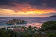 Sveti Stefan island on the Adriatic sea near Budva, Montenegro