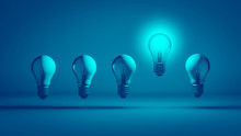 Intelligente Glühbirne Mit Idee