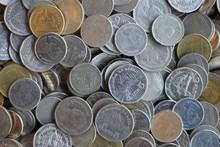 Many Thai Coins Baht