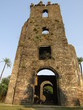 The fort of Vasai is situated in the jungle and on the shores of the sea..