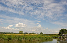 River Arun At Amberley, Sussex, England