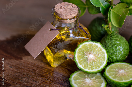organic essential citrus oil for hair treatment Wallpaper Mural