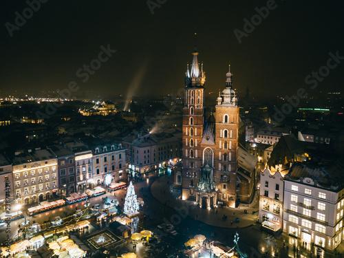 Kraków Rynek z powietrza