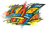 Fototapeta Młodzieżowe - Graffiti art