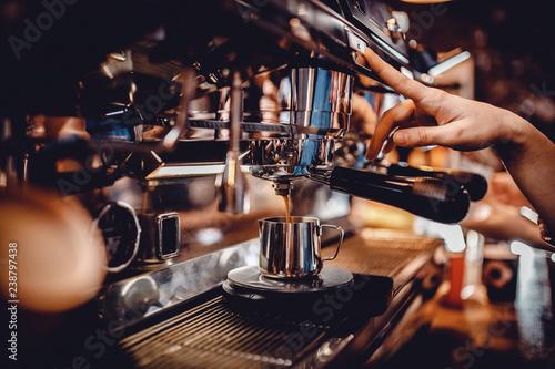 baristas coffee drink - 238797438