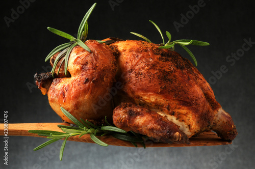 Galletto arrosto Steikt kjúklingur ft81082313 roast chicken жареная курица ayam Canvas Print