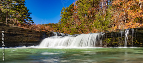 Haw Creek Falls, Ozark National Forest, Arkansas Canvas Print