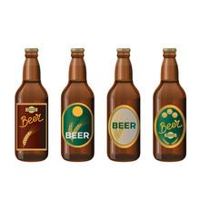 Glass Beer Bottles