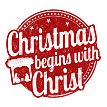 Christmas Begins With Christ S...