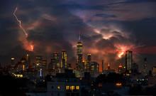 Lightning Strike Through New Y...