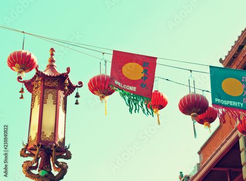 Lanterns over Chinatown
