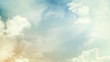 Abstract blurred beautiful soft cloud background with a pastel multicolored gradient with bokeh concept for wedding card design or presentation