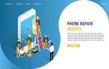 Phone Repair Service Landing P...