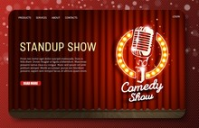 Standup Show Landing Page Webs...