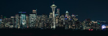 Urban Panorama Of Seattle Skyl...