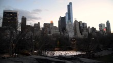 Beautiful View In Central Park...