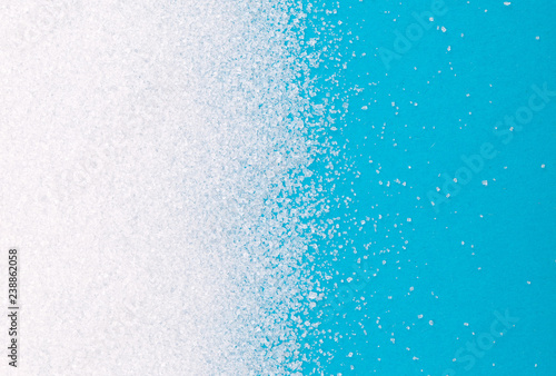 Fototapeta White sugar background