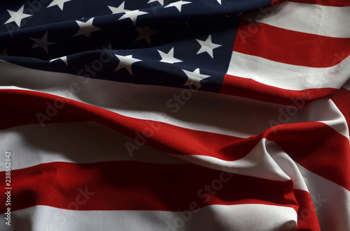 Poster Countryside American Flag background