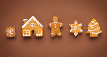 Assortment Of Homemade Gingerb...