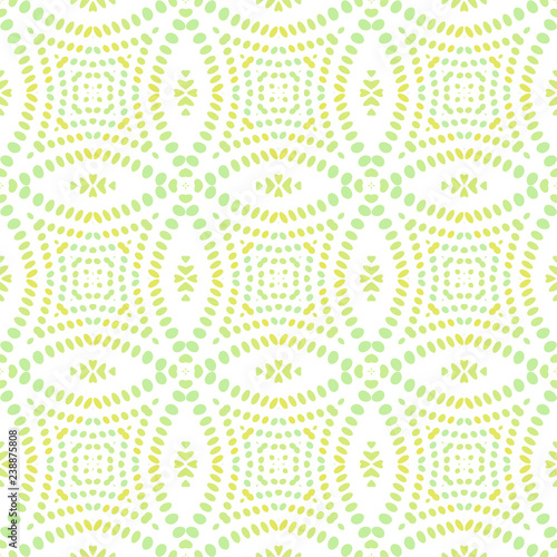 Keuken foto achterwand Draw Seamless background pattern with a variety of multicolored lines.