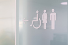 Toilette / Icon / Symbol