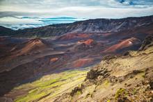 Panorama Of Haleakala National...