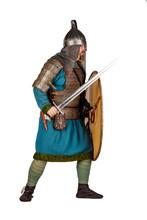 Medieval Soldier With Helmet, ...