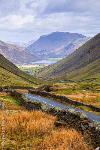 Fototapeta Honister Pass in the Lake District
