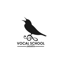 Vocal School Logo Template