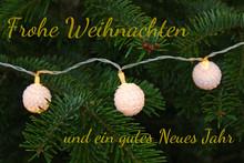 Frohe Weihnachten Und Ein Gute...