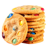 COOKIES WITH SMARTIES  CLOSE UP FOOD IMAGE