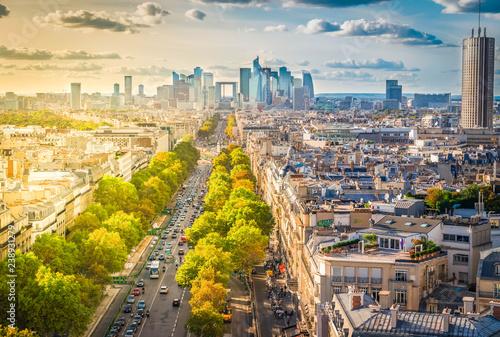 Photo  skyline of Paris, France