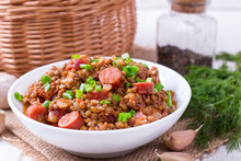 Lentils With Smoked Sausages