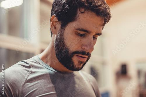Fotografie, Obraz  Personal trainer, allenamento in palestra