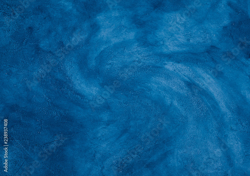 Fototapety, obrazy: Blue marble background (as an abstract background with a marbleized effect)