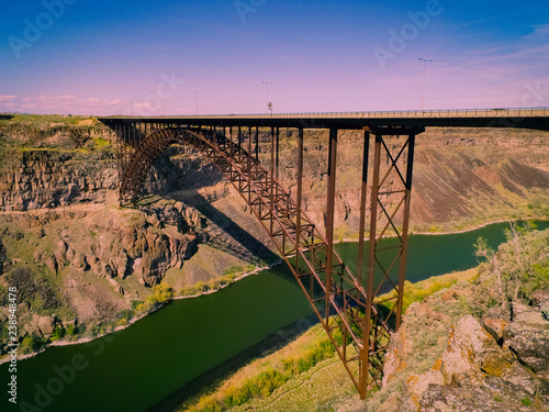 Papiers peints Route 66 Perrine Bridge