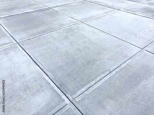 Canvastavla Concrete sidewalk