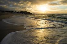Dawn Over Coastline