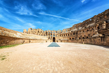 Amphitheater Of El Jem
