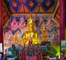 Thailande; Nan : Wat Nong Bua Temple
