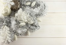 Christmas Decoration - Silver ...