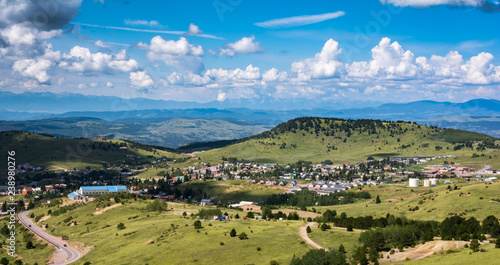 Foto Overlook of Cripple Creek Colorado Town
