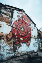 Street Art In Phuket Old Town,...
