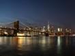 Skyline New York City mit Brooklyn Bridge