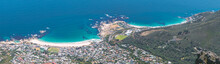 Panoramic View Of Camps Bay An...