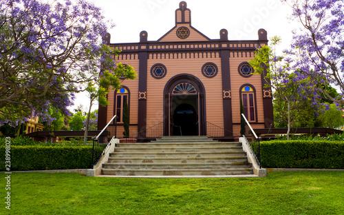 Canvas Print A synagogue in San Diego