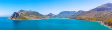Hout Bay Panoramic Image Taken From Chapman's Peak Drive Scenic Road Near Cape Town, South Africa