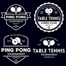 Printvector Set Of Ping Pong L...