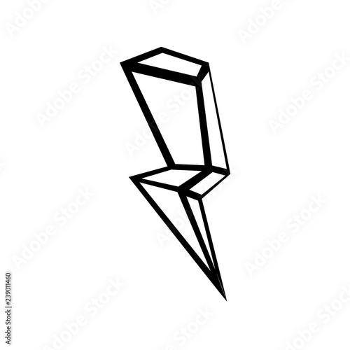 thunder vector icon thunder outline buy this stock vector and explore similar vectors at adobe stock adobe stock thunder vector icon thunder outline